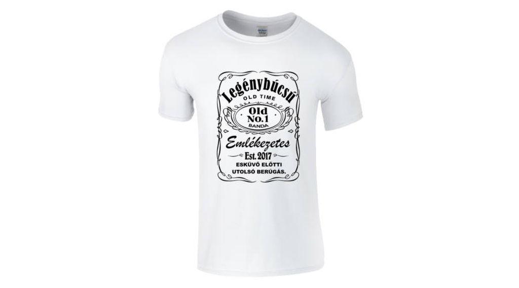 f16d96e091 Feliratos férfi póló - Legénybúcsú Jack Daniel s